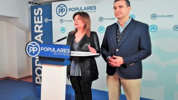 Rosalía Espinosa y Amós García (PP)