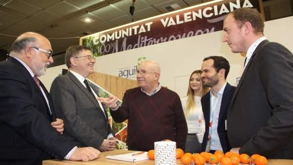 Puig destaca la enorme capacidad de crecimiento de exportaciones hortofrutícolas