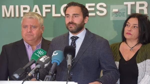 Dani Pérez, portavoz del PSOE en el Ayuntamiento de Málaga