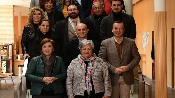 Reunión del equipo de delegados en la Alpujarra