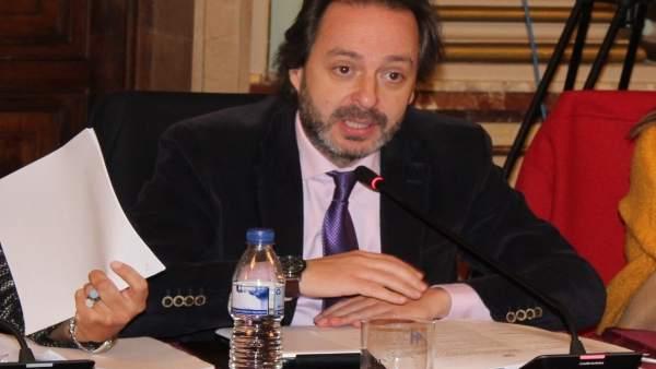 El concejal del PP en el Ayuntamiento de Huelva Manuel Remesal.