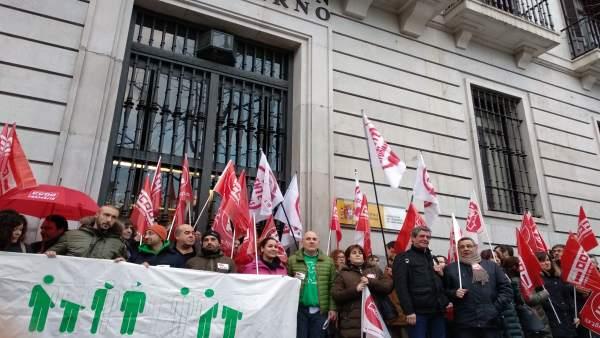 Concentración sindicatos