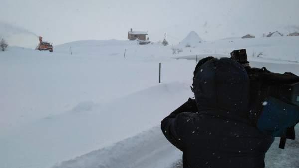 Nieve en Somiedo