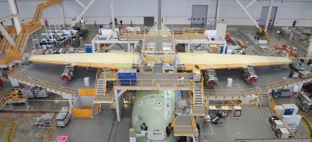 Factoría de Airbus en Sevilla.