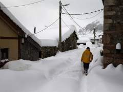 Nieve en Asturias
