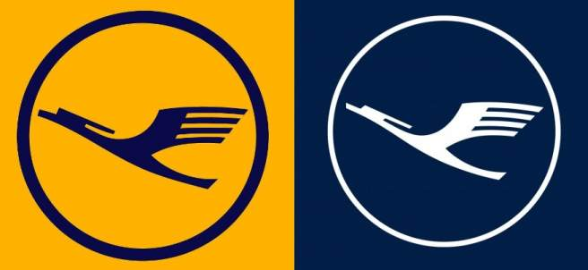 Nuevo logo de Lufthansa