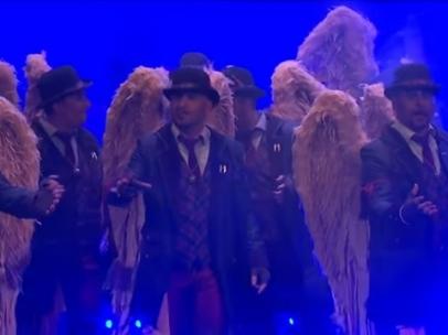Comparsa 'Los ángeles de la guarda'