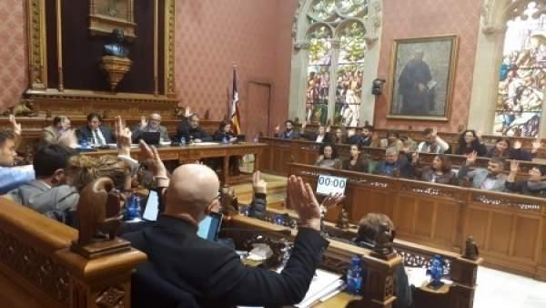 Pleno del Consell de Mallorca