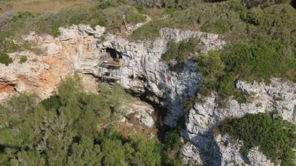 Cueva Biniadrís en Menorca