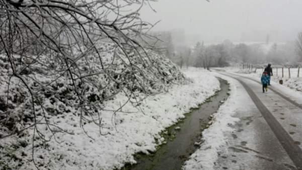 Nieve en Euskadi, Mungia