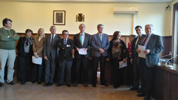 Tribunales.- Magistrados denuncian ante el CGPJ la