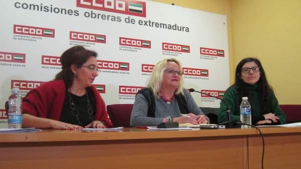 Secretaria general de CCOO Extremadura, Encarna Chacón