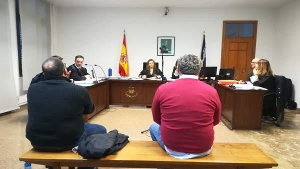 Los Acusados Jaime Garau Y Pedro José Talavera