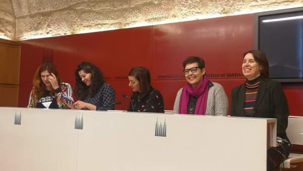 Concejalas de Compostela Aberta presentan una moción de apoyo a la huelga del 8
