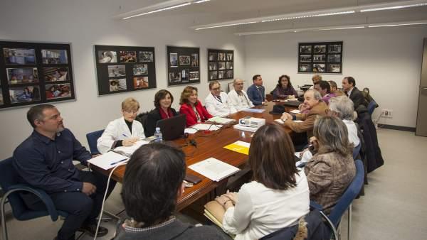 Imagen de la reunión del Observatorio
