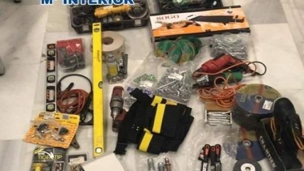 Nota De Prensa: La Policía Nacional Esclarece Tres Robos Con La Detención De Un