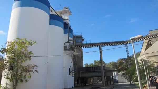 Instalaciones de la fábrica de Cementos Cosmos en Córdoba