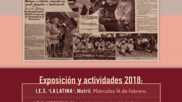 Institutos de la provincia acogerán actividades para recordar La Desbandá