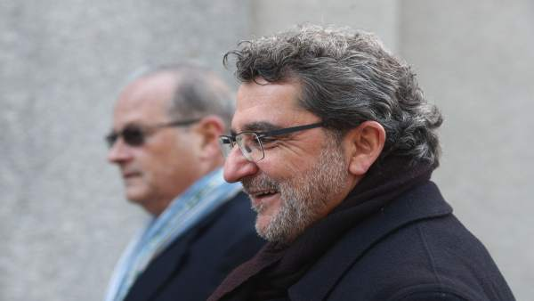 El diputado y exalcalde socialista Antonio Gutiérrez Limones llega al Supremo