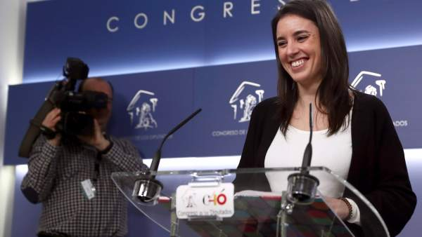 Irene Montero, diputada de Unidos Podemos.