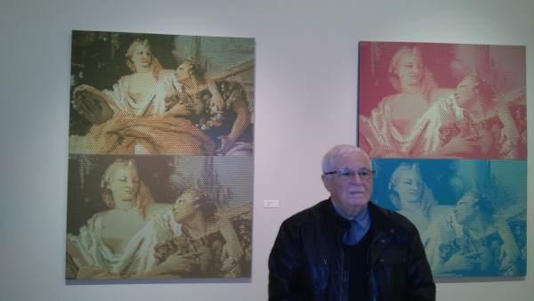 El pintor ha presentado su selección en La Nau
