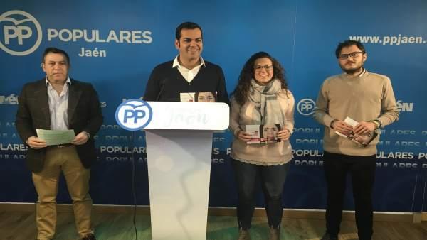 Requena presenta la campaña del PP de Jaén.