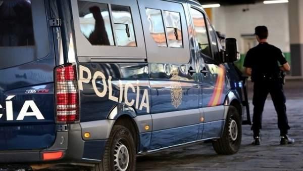 Vehículo de la Policía Nacional en imagen de archivo