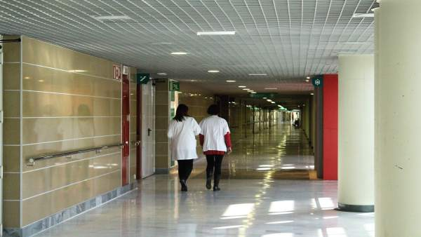 Médicos, hospital, pasillo, recurso, sanitarios, son espases