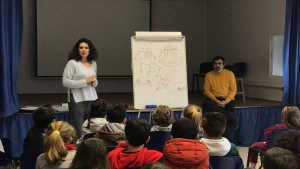 Colegio Torremolinos UMA charla visibilizar mujer ciencia