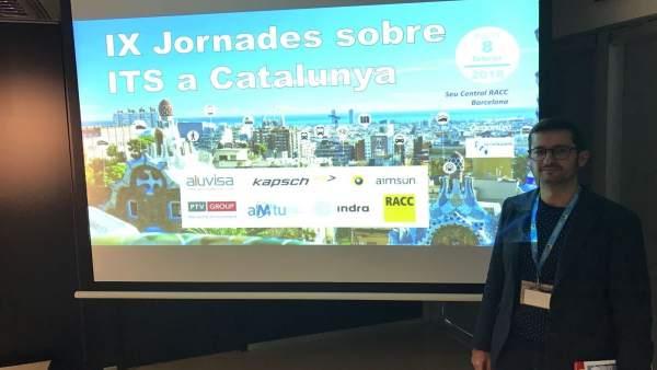 Ferrer en las jornadas sobre transporte inteligente en Barcelona