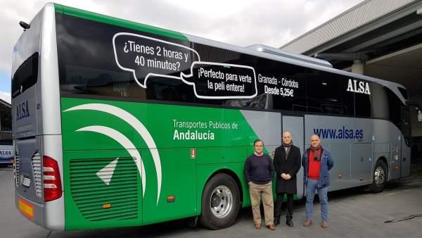 Autobús escolar de Alsa