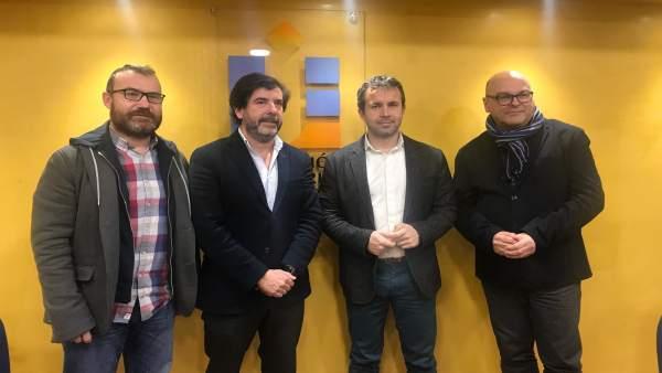 Reunión del PSOE con Comercio Jaén