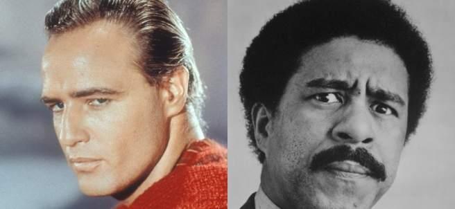 Marlon Brando y Richard Pryor