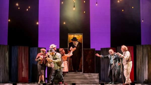 Nota Y Foto / El Teatro Alhambra Acoge 'Luces De Bohemia' De Valle Inclán Con Te