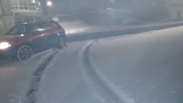 Mal estado de carreteras por nieve, temporal, nevadas