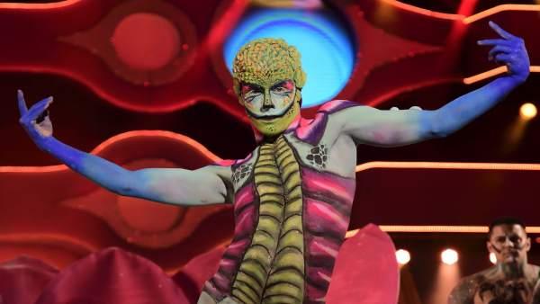 Maquillaje corporal en el Carnaval de Las Palmas de Gran Canaria