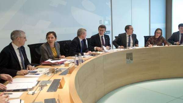 Reunión del Consello de la Xunta del 8 de febrero de 2018