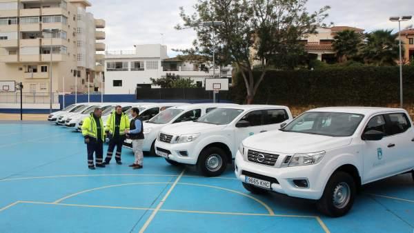 Nuevos vehículos de limpieza Marbella