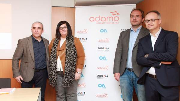 Nota De Prensa Adamo Pone En Marcha Su Red De Fibra Óptica En Navarra