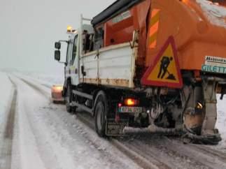 Quitanieves, nieve, carretera