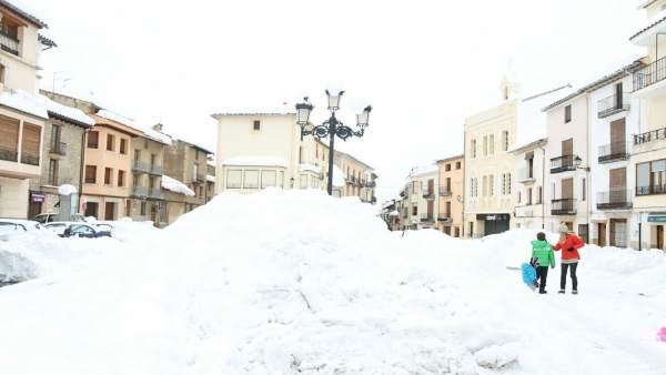 Vilafranca, nieve