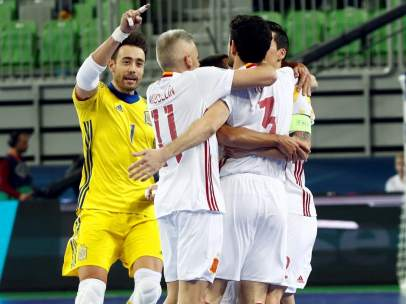 Gol de España de fútbol sala
