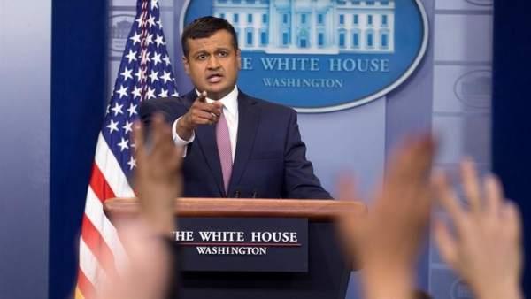 El subsecretario de prensa de EE UU, Raj Shah