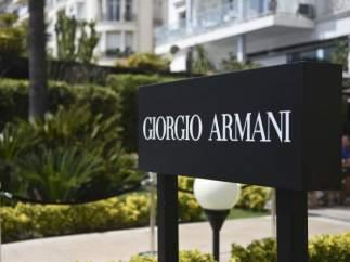 Tienda de Armani