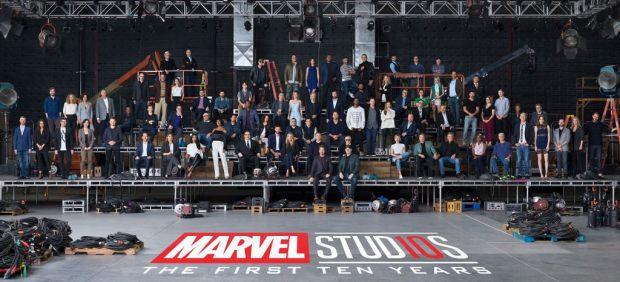 Todos los actores Marvel en una sola foto