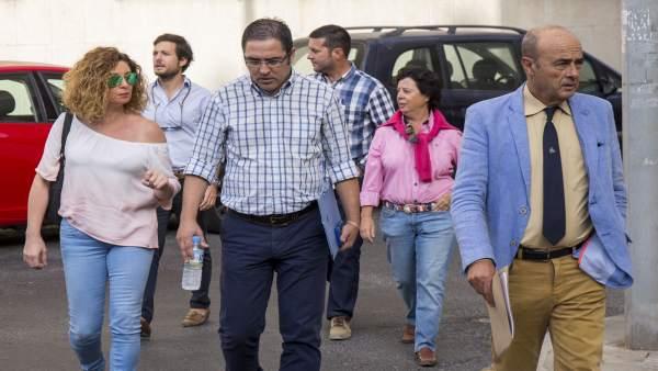 Letrados que ejercen la acusación popular en el doble crimen de Almonte (Huelva)