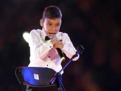 Adrián Martín, el niño cantante con hidrocefalia, ingresado de nuevo