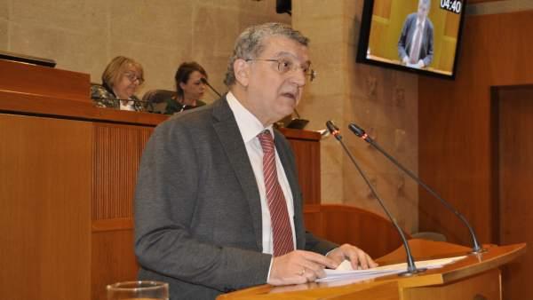 El consejero de Sanidad de Aragón, Sebastián Celaya.