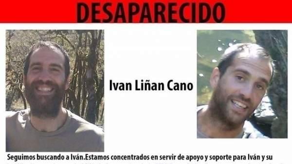 Cartel de búsqueda de un joven desaparecido en Maracena