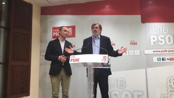 Los senadores Antich y Pons